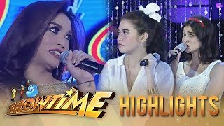 It's Showtime Miss Q & A: Bela and Anne disagree with Pia Santillan