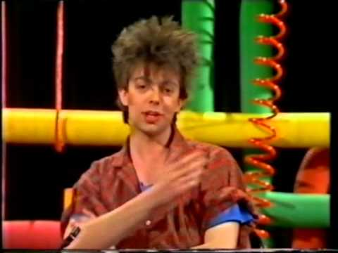 IAN McCULLOCH interview (Kids tv show 'Data Run') ECHO & THE BUNNYMEN