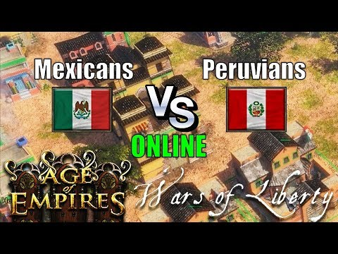 Age of Empires 3 Asian Dynasties Mod Wars of Liberty México