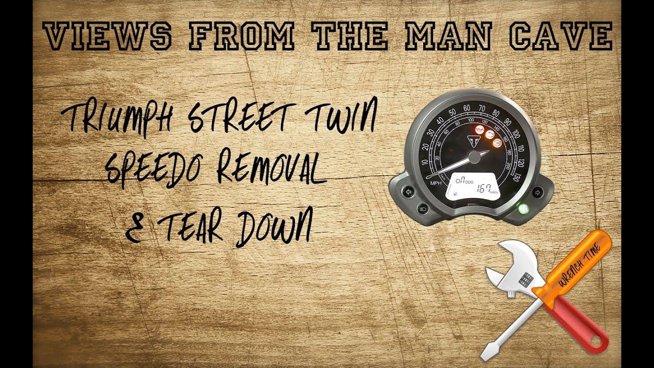 bespaar tot 80% groothandel online gloednieuw How to remove a Triumph Street Twin speedo
