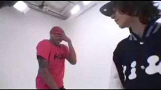 chris brown and adam sevani dancing for adam chu dance crew acdc