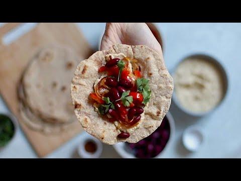PIADINE fatte in casa! | Ricetta FACILE e VELOCE | #Veganuary