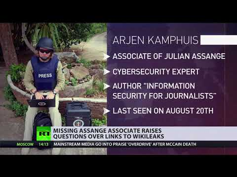 Mysterious disappearance: Cybersecurity expert with links to Assange & WikiLeaks goes missing
