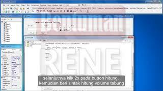 Membuat Program Volume Tabung dengan Delphi 7