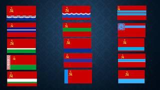 Песни на языках всех 15 республик СССР (флаги, гербы, фото). Как хорошо мы плохо жили:)