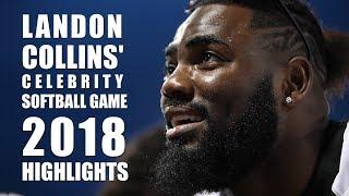 Landon Collins' Celebrity Softball Game: 2018 Highlights
