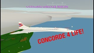Flying Concorde in Roblox Pilot Flight Training Simulator