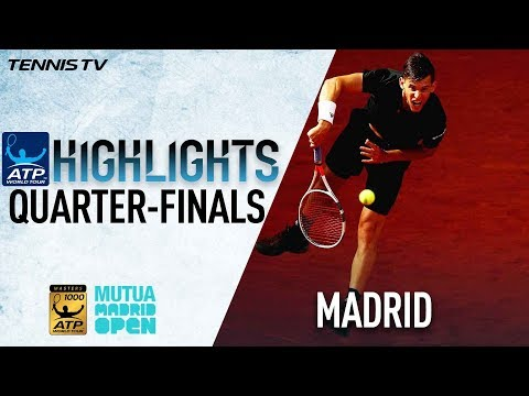 Highlights: Thiem Ends Nadal's Win Streak In Madrid 2018