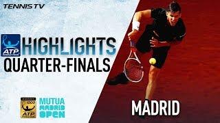 Highlights: Thiem Ends Nadal's Win Streak In Madrid 2018