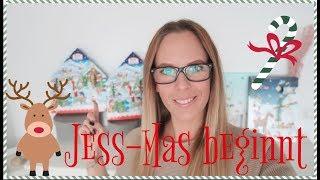 ES BEGINNT   Jess-Mas Tag 1   1 Dezember   Daily Vlogs bis Januar