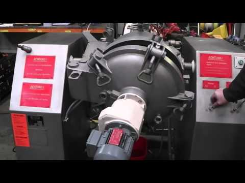 39 Ltr Wolff Universal Process Vessel - Hydraulics