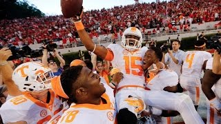 Tennessee's Remarkable Hail Mary to Stun Georgia: A Game to Remember