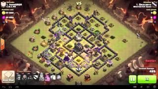 Clash of Clans - TH9 - GoHo - War 91 vs C.O.C.PH - Dracarys vs #1