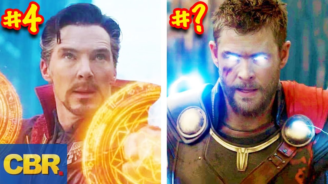 Marvel Superpowers Ranked From Worst To Best - YouTube