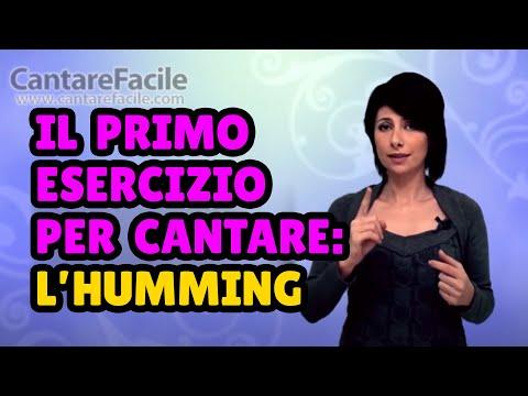 Il primo esercizio per imparare a cantare: Humming - Lezioni di Canto #26