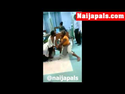 Side Chic and Main Chic Fight At Hospital [Naijapals.com]