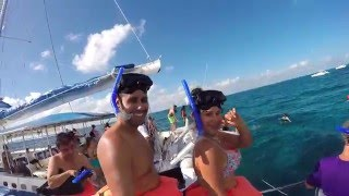 Mexico 2015 | Isla Mujeres | Catamaran - GoPro Hero 4