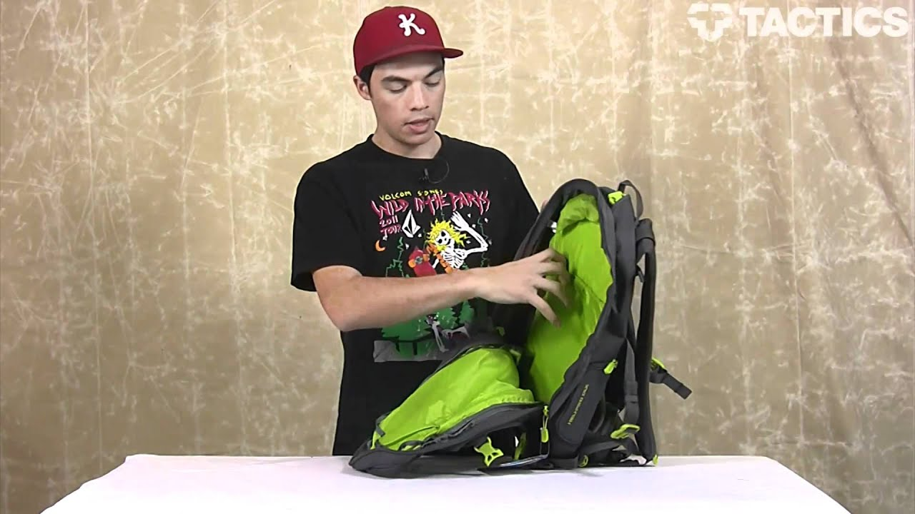 DAKINE 2012 Heli Pro DLX Backpack Review - Tactics.com - YouTube