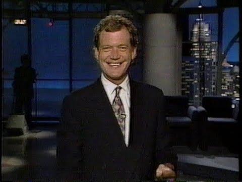 Late Night with David Letterman  July 22nd, 1992  Catherine O'Hara, David Sanborn