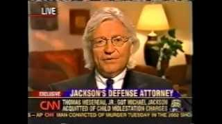 Larry King interviews Michael Jackson's Attorney Tom Mesereau - Part 2 of 6