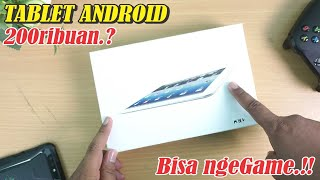 TABLET Android cuma 200ribuan.!! Bisa Main Game #UNBOXING