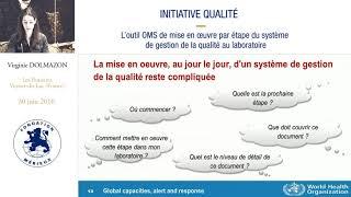 L'outil OMS de mise en oeuvre par étape du système de gestion de la qualité au laboratoire