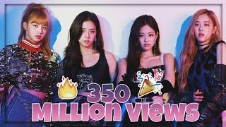 """BLACKPINK's """"Kill This Love"""" Breaks The Record For Fastest K-Pop Group Music Video To Reach 350 Mill"""