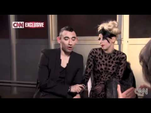 Lady Gaga - CNN Thierry Mugler Interview 2011