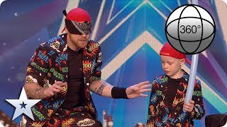 A Guinness World Record breaking attempt in 360 with Ryan Tracey! | BGT 2020