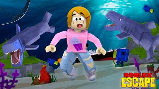 Roblox Escape The Underwater Base Obby With Molly!