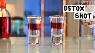 Detox Shot - Tipsy Bartender