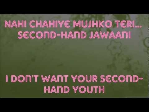 """Second Hand Jawaani"" Lyrics & English Translation - ""Cocktail"" (2012)"