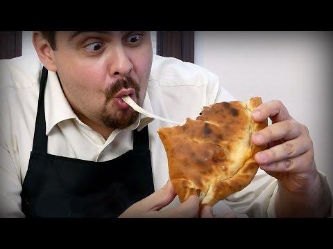 Пицца кальцоне  в домашних условиях | как приготовить