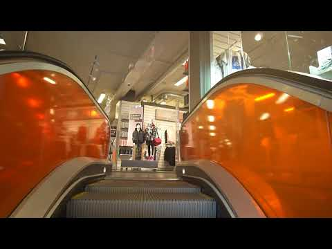 Sweden, Stockholm, Södertälje Centrum, stadium, CIBES-HISSEN A5000 elevator, 2X escalator
