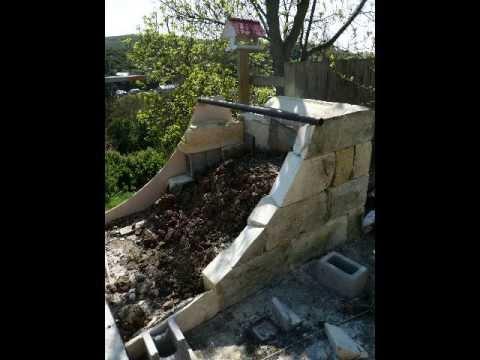 Diy Backyard Skatepark Concrete Youtube