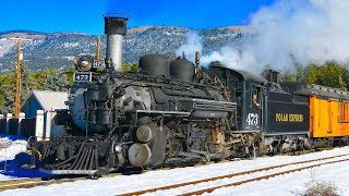 Durango Winter Steam Trains