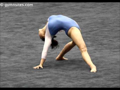 Floor music gymnastics - Anna Li 2010 - Beautiful Requiem for a Dream Version