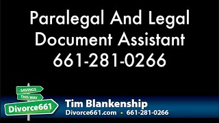 San Fernando Divorce | Difference Between Paralegal And Legal Document Assistant