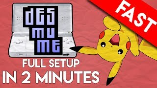 DESMUME Emulator for PC: Full Setup and Play in 2 Minutes (The Nintendo DS Emulator)