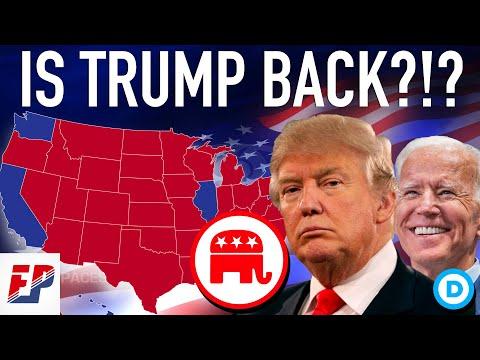 Donald Trump Gains on Joe Biden Following RNC | 2020 Map