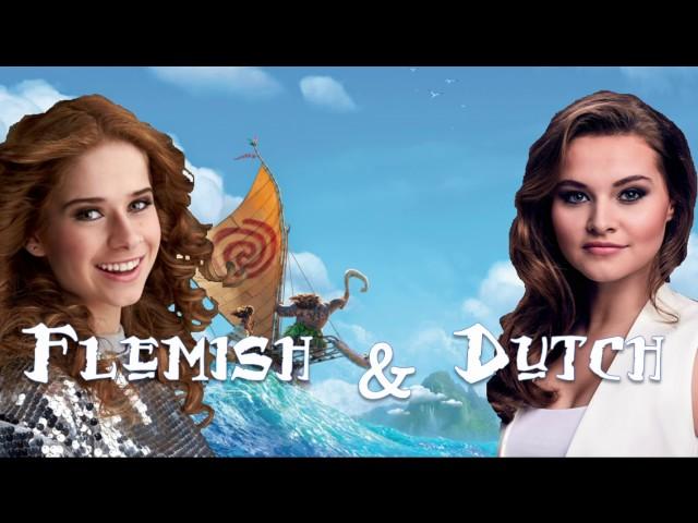 Moana/Vaiana - How Far Ill Go - Dutch & Flemish Duet | Vajèn van den Bosch & Laura Tesoro