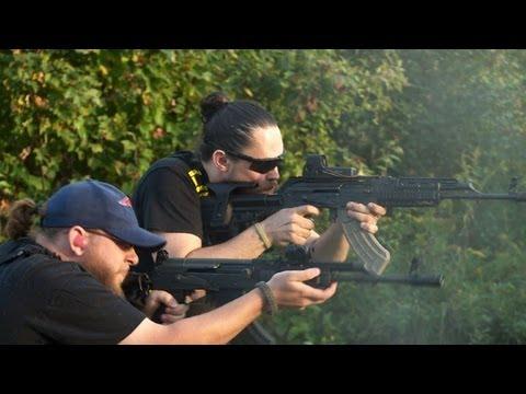 La Kalashnikov, de plus en plus populaire chez les Américains