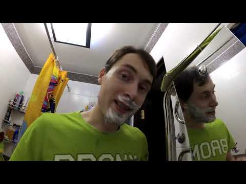 Новейший уникальный метод бритья бороды раз в месяц Как не отрастить бороду Бритва нового поколения