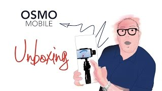 OSMO mobile Unboxing with Arnaud