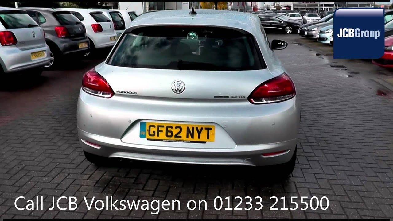 2012 Volkswagen Scirocco Bluemotion 2l Reflex Silver