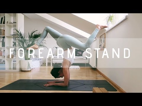 How to do a FOREARM STAND step by step