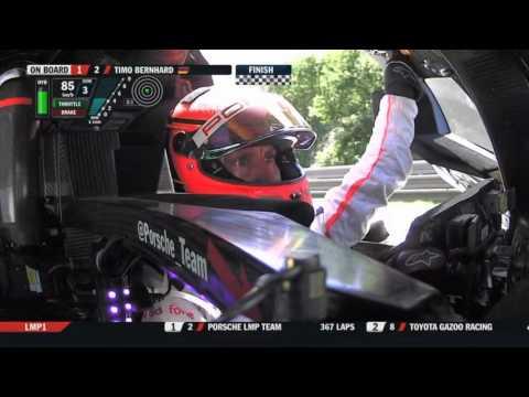 24h Le Mans 2017 | #2 - Timo Bernhard | Porsche 919 Hybrid | Final lap onboard