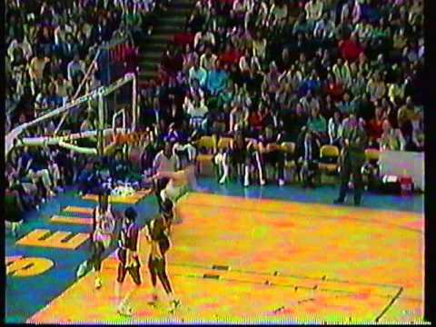1988 NBA Promo w/ Michael Douglas ... Amazing Shots