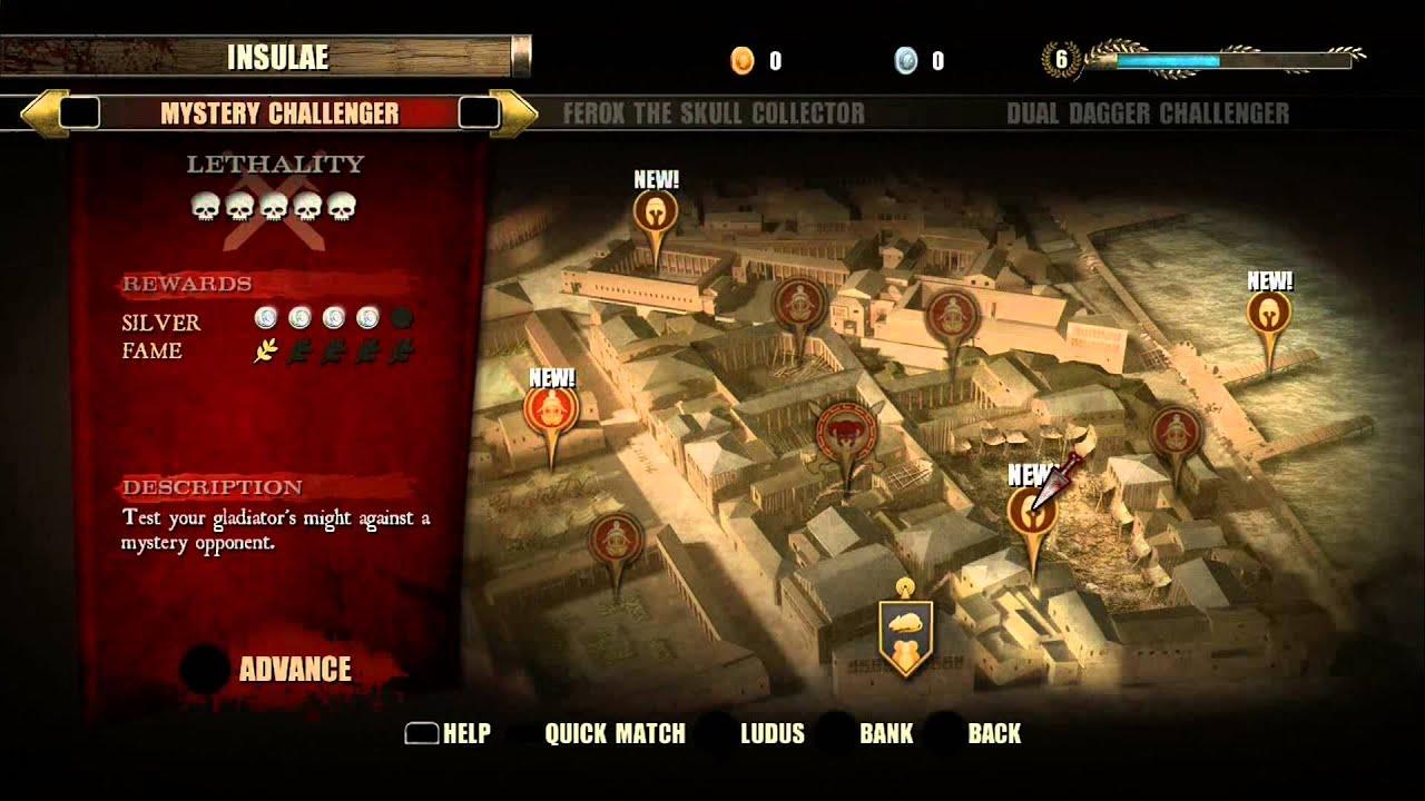 Spartacus Video Game