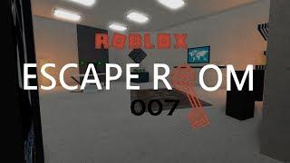 Escape Room Roblox - 007